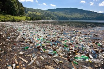 Marine debris North America, touched landscape Photo source photobucket